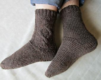 Knit socks men socks knit Men socks Knitting socks Husband socks Hand knit socks wool socks St valentine gift men Gift for husband Gift for bEKrSapMn