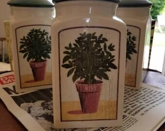 Ceramic Jars Storage
