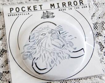 Astrology Pocket Mirrors: Leo