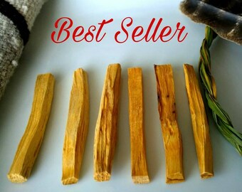 5 Palo Santo Sticks Aromatic Holy Wood Purify Incense smudge Holy stick Aromatherapy