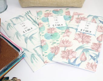 Tomoe River Paper, Tomoe River Insert, Journal, Travelers Notebook, Tomoe River Paper Notebook, Tn Insert, Foxy Fix, Available in 9 sizes