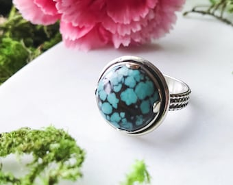 Handmade Turquoise Ring Size 7