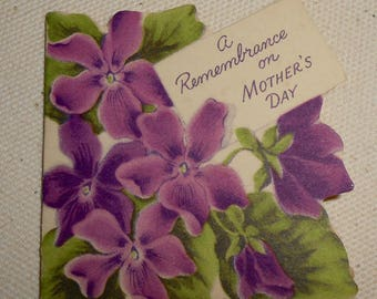 Vintage Norcross Greeting Cards Mother's Day Cards # 687  with Box