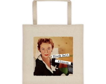 Black Belt Alanon 12 Step Recovery Gift Tote bag