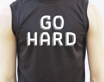 go hard, box, boxing, workout shirt, workout shirts, gym, workout top tank, gift for him, mens shirt, sports, gift for her, workout top tank
