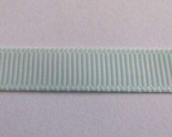 Ribbon grosgrain Blue 10mm wide