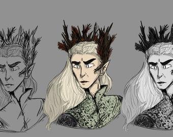 Thranduil Prince of Mirkwood (The Hobbit)