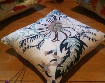 Pin Cushion, handmade with Liberty fabrics, Aquatic Bloom