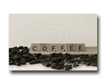 Coffee Photography, Fine Art Print, Coffee Wall Decor, Kitchen Accent, Unique Home Staging, Coffee Lover Mom, Gift for Foodie Mother