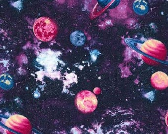 OuterSpace Planets-Fabric Traditions-Fat Quarter