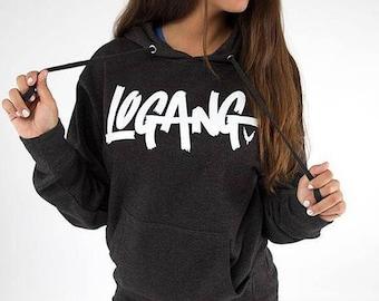Logang Adult Hoodie Logang Hooded Sweatshirt Hoodie