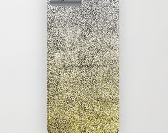Silver and Gold Glit Gradient Phone Case 18 Styles Available! - iPhone, iPod, and Samsung Galaxy!