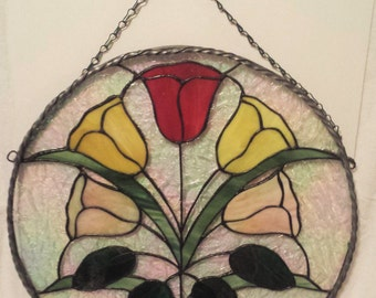 Stained Glass Panel - Bloomination