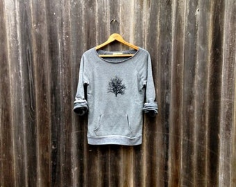 in my shadow Tree Sweatshirt, Nature Lover, Hiking Top, Gift for Mom, Yoga Top, Cozy Sweater, S-2XL