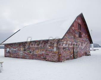 Anderson Barn, Ephraim, Door County, Wisconsin Photo Digital Download