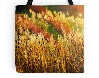 Fall Foliage Tote Bag, Fall Field Bag, Fall Tote Bag, Autumn Tote Bag, Fall Scenery Bag, Yellow Autumn Bag, Fall Scenery Tote, Fall Bag