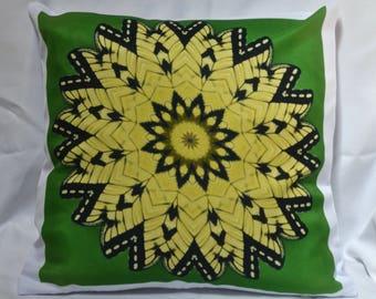 Decorator Pillow Cover, Kaleidoscope Design