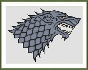 Stark Sigil cross stitch chart pdf download game of thrones