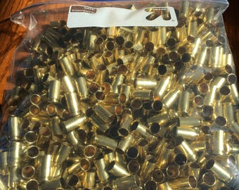 40 S&W once fired polished brass. 500 count