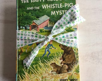 Two Vintage Happy Hollisters Mystery Books for Children