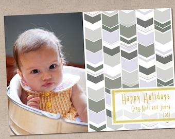 Holiday Photo Card: Skinny Holidays