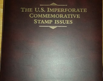The U.S. Imperforate Commemorative Stamp Issues