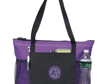 Sigma Sigma Sigma Venture Emblem Tote Bag