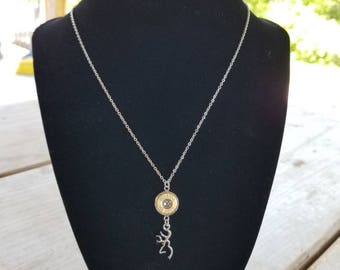 Browning bullet necklace
