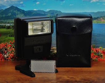 Vintage CANON 177A SPEEDLITE, Dedicated Auto Manual For Canon A & T Series SLR Cameras, Circa: 1970's~1980's, Fantastic Condition!