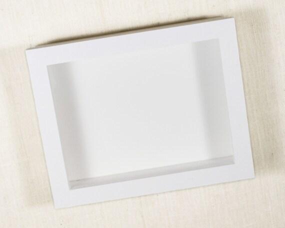shadow box 12x12 deep shadow box 2 inches deep or 3 inches deep display frame white - White Shadow Box Frame