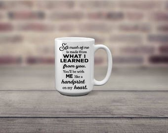 So Much Of Me Wicked Quote Boss Coworker Mom Dad Coffee Mug - Christmas, Birthday, Graduation, Valentines, Mother's Day