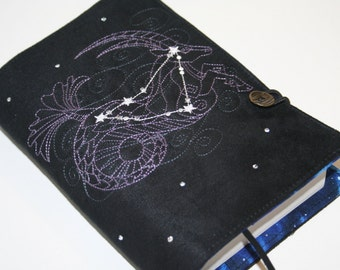 Capricorn  Embroidered Book Cover