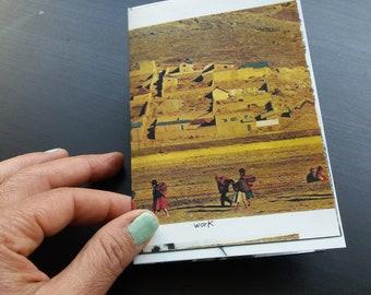 Quotes Art zine card, Work - A progress - Work - Power, Taly Levi Tal Stoobik