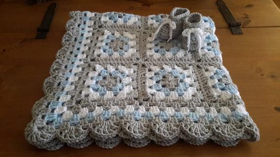 Häkeln Sie Baby Decke häkeln Baby Afghan Oma Platz