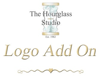 Logo Add On, Premade Logo, Add your Logo, Logo Placement