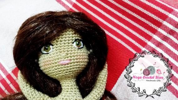 Amigurumi Eyes Pattern : Crochet doll pattern handmade basic doll amigurumi pattern