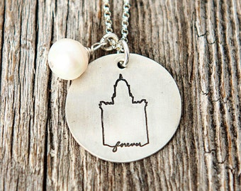Manti Temple, Temple Forever Necklace, Temple Necklace, Temple, LDS Jewelry, Mormon Charm, Temple Charms, LDS Wedding