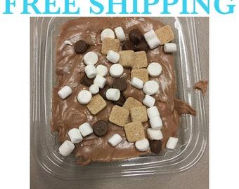 Free Shipping, S'mores Chocolate Fudge, Creamy Fudge