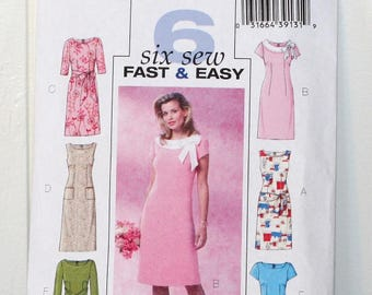 Butterick B4386 Fast and Easy Pattern