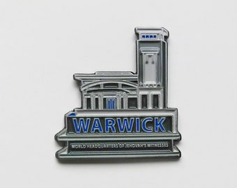JW.org pin for Jehovah's witnesses JW gift warwick bethel world headquarters