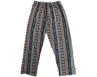 Big Lebowski Pajama Pants The Dude Costume Pajamas Bottoms Bowling Movie Fancy Dress Lounge Halloween Wear Jeffrey Gift Cosplay High Quality