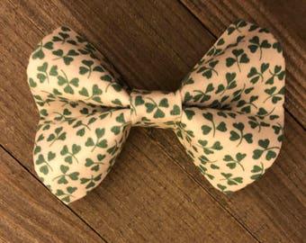St. Patrick's Day Shamrock Bow Tie