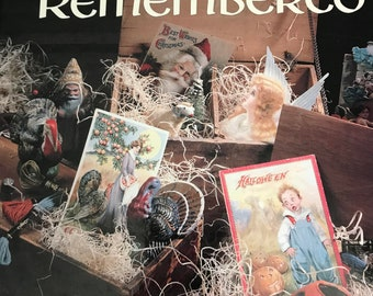 Holidays Remembered, Leisure Arts Cross Stitch book