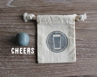 Prost Cheers or Skol! Beer Stone - Olive - Elevate Your Beer!