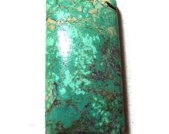 40% Sale -- Turquoise , 16 x 32 mm Size, Cabochon stone, Rectangular Shape, 1 pc.