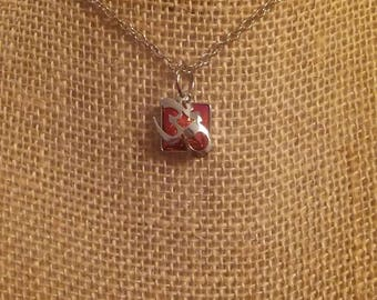 Swarovski Crystal Ohm Necklace