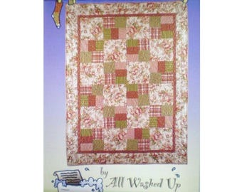 Just Can T Cut It Quilt Pattern Large Scale Fabrics Diy