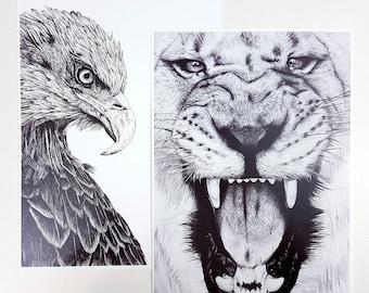 Mis- Print Pack 4 / Art prints / Art Print Pack