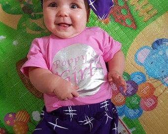Poppy's Girl outfit with headband