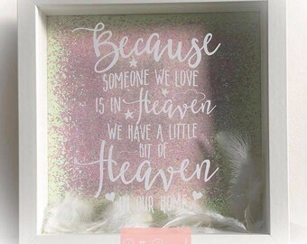 Feather Heaven Memory Frame